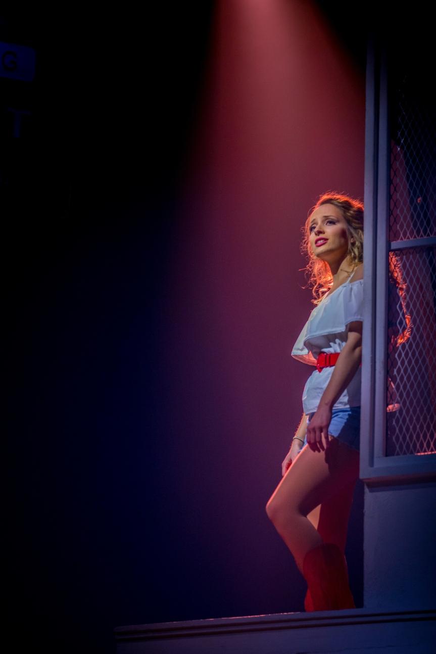 Hannah Price as Ariel Moore in Footloose. Photo Credit Matt Martin (2)