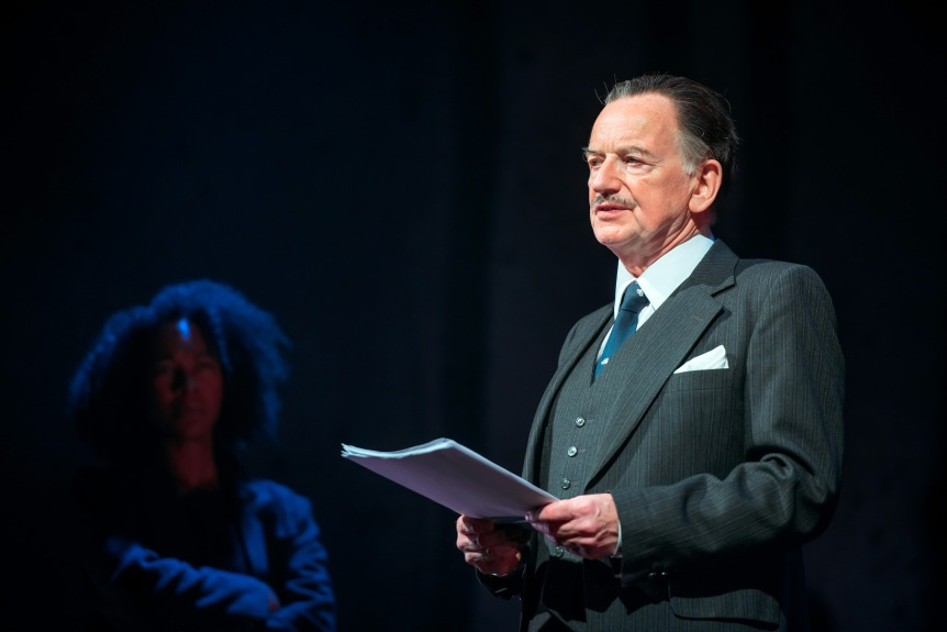 Amelia Donkor as Rose & Ian McDiarmid as Enoch Powell_credit Mihaela Bodlovic