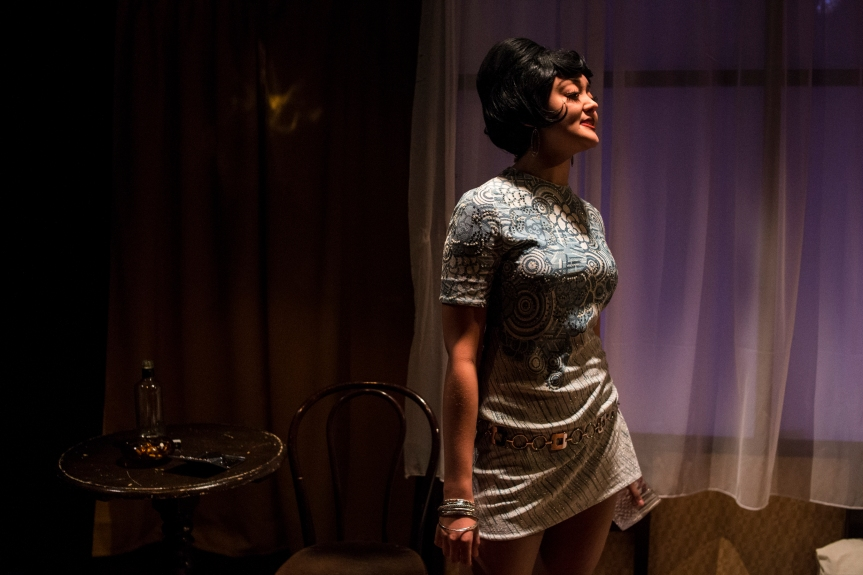 Alexandra Mardell in Mad as Hell, credit of Eddie Otchere. (2)