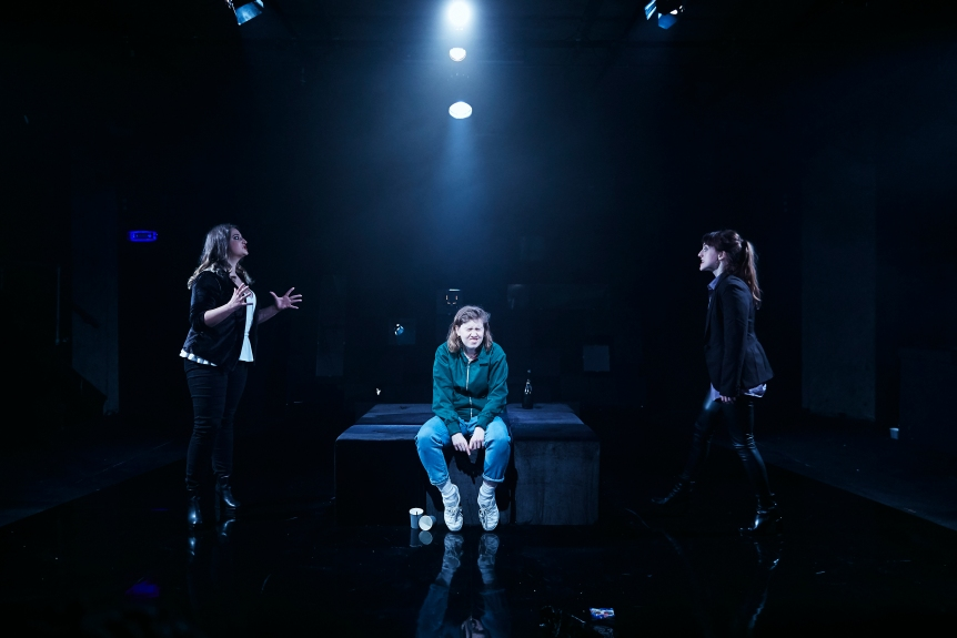 Grotty, The Bunker - Courtesy of The Other Richard (2) Rebekah Hinds, Izzy Tennyson and Grace Chilton