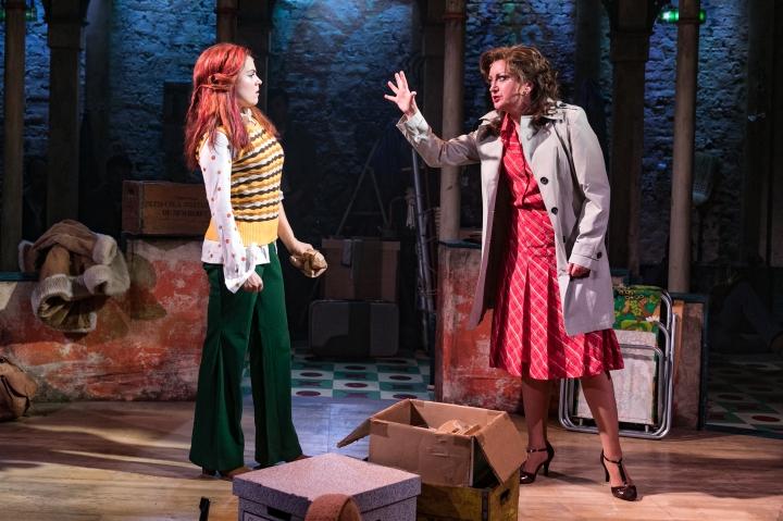 L-R Gemma Sutton as Angel & Caroline O'Connor as Anna in THE RINK, credit Darren Bell