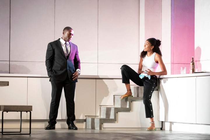 3176 Eric Kofi Abrefa as Jean and Thalissa Teixeira as Kristina in Julie at the National Theatre (c) Richard H Smith.jpg