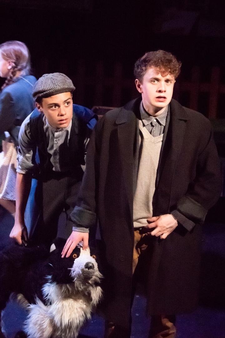 Goodnight Mr Tom Bradley Riches as Sammy James Sampson as Tom Photo Eliza Wilmo.jpg