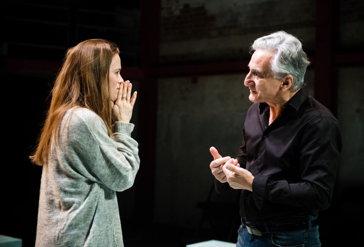 Katie Brayben & Henry Goodman in Honour (Tiny Fires, Park Theatre). Photo by Alex Brenner (3)