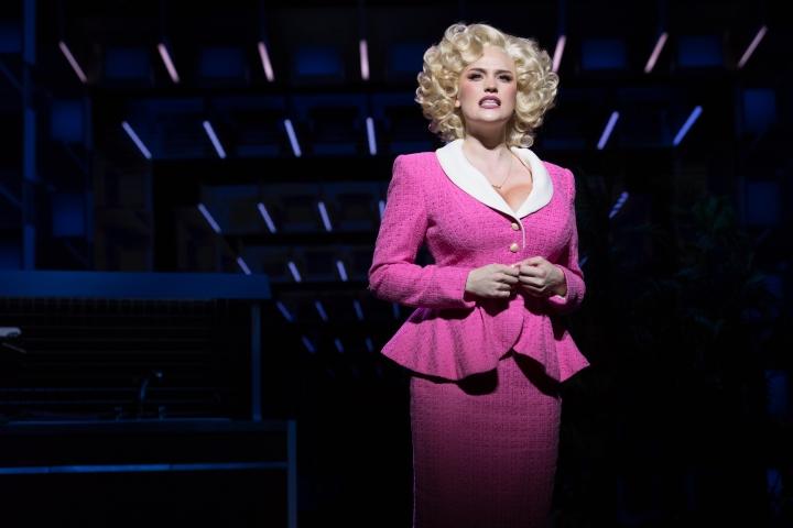 9 TO 5 THE MUSICAL. Natalie McQueen 'Doralee Rhodes'. Photo Craig Sugden