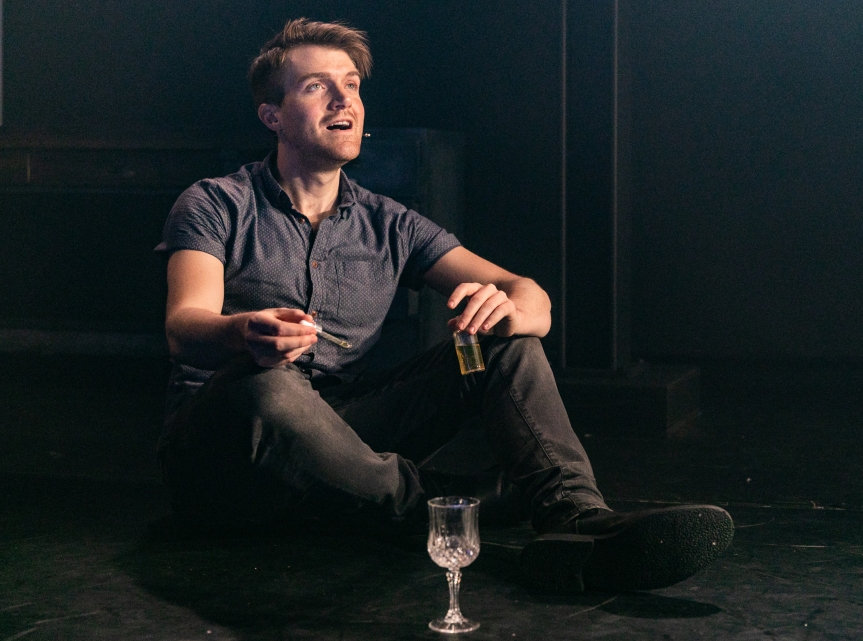 Ciaran Owens 3, Photography Credit- Darren Bell, Director – Matt Steinberg, Designer – Alison Neighbour, LX Designer – Christopher Nairne